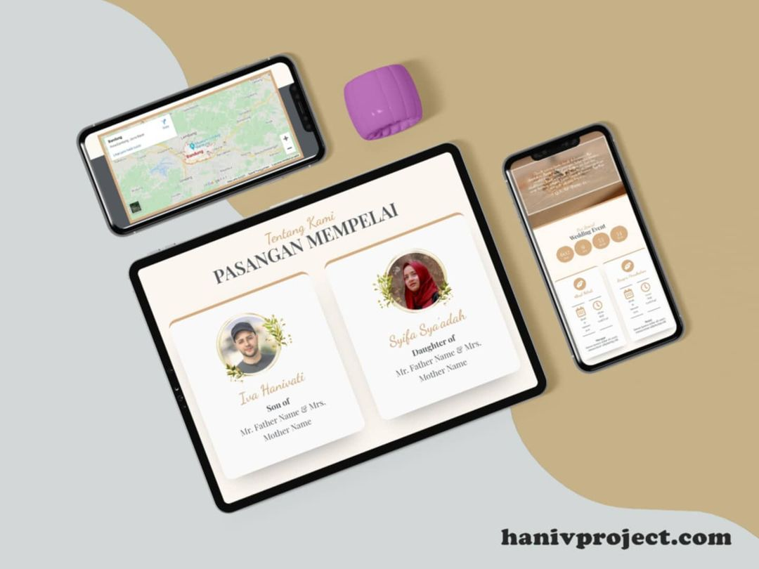 Homepage Haniv Project